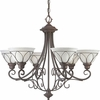 Progress Lighting Verona Collection Chandeliers Light- P4052-33