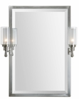 Uttermost (01118) Amadora Mirror with Sconces