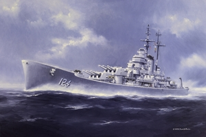 The Gray Ghost, <br>USS Rochester CA-124