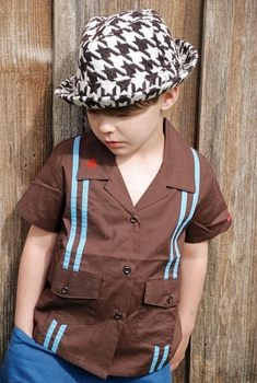 Knuckleheads Bogus Houndstooth Fedora Hat