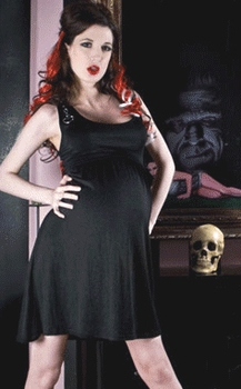 MamaSan D-Ring Rebel Maternity Dress