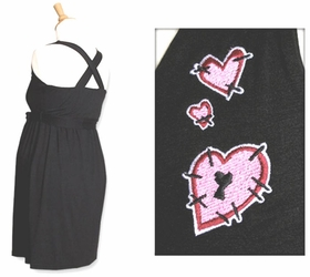 MamaSan Mended Heart Maternity Dress