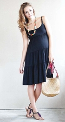 Mothers en Vogue Getaway Day Maternity Dress / Nursing Dress