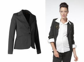 Noppies Lisbon Black Maternity Suit Jacket