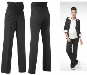 Noppies Lisbon Black Maternity Trousers