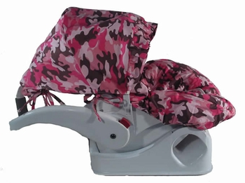 Pink Camo Infant Car Seat Cover
