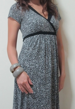 Tanya Stylish Maternity and Nursing Dress
