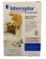 6 MONTH Interceptor White for dogs 51 - 100 lbs. and cats