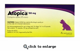 Atopica Purple 50mg 15 Capsules