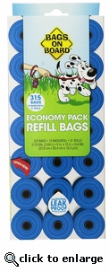Bags on Board Bag Refill Pack 315 Bags
