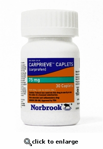 Carprieve Caplets (Norocarp) 75mg 30ct