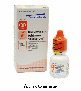 Dorzolamide HCl Ophthalmic Solution 10mL