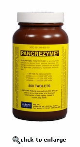 Pancrezyme 425mg 500 Tablets