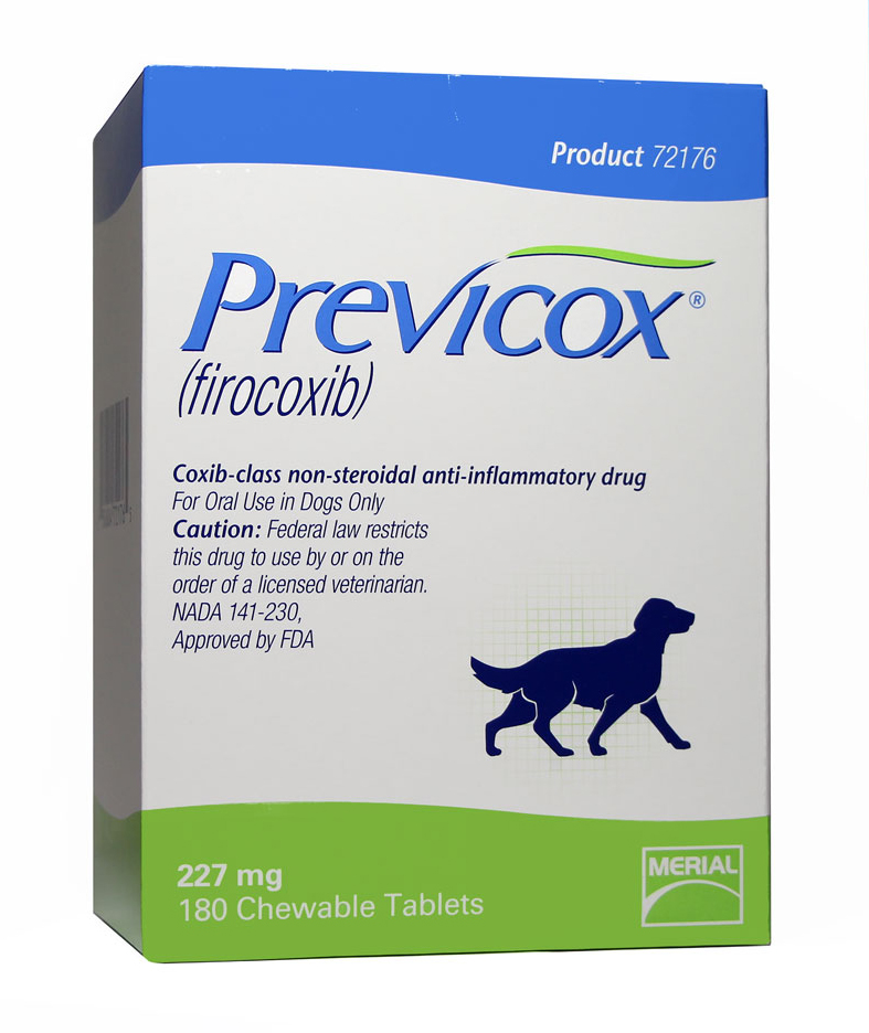 Previcox 227mg (per Tablet) Expires 6/2016