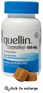 Quellin 100mg 30 chewables