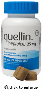 Quellin 25mg 180 chewables