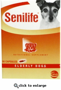 Senilife for Small Dogs and Cats 30ct Capsules