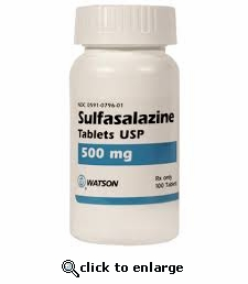 Sulfasalazine 500mg sold per tablet