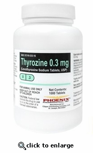 Thyrozine 0.6mg per tablet