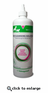 Vet Solutions Ear Cleansing Solution 16 oz