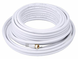 40 Feet RG6 Coaxial Cable for HDTV Antenna, CATV, and SATV applications