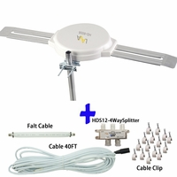 [FREE Installation Kit $42.99 value] Top Rated 4K Omnidirectional TV Antenna OmniPro HD-8008
