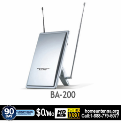 LAVA BA200 Amplified Indoor HDTV VHF/UHF/FM Antenna