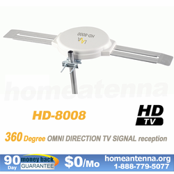 Top Rated Omnidirectional TV Antenna OmniPro HD-8008