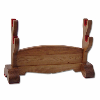 Hanwei Natural Wood Japanese Sword Stand - Ships Free!