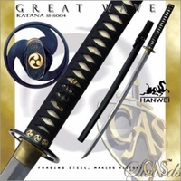Hanwei (Paul Chen) Great Wave Katana - Ships Free!