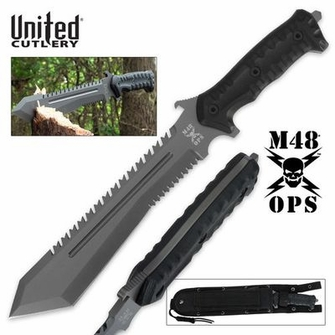 M48 Ops Combat Bowie With Sheath - Ships Free!
