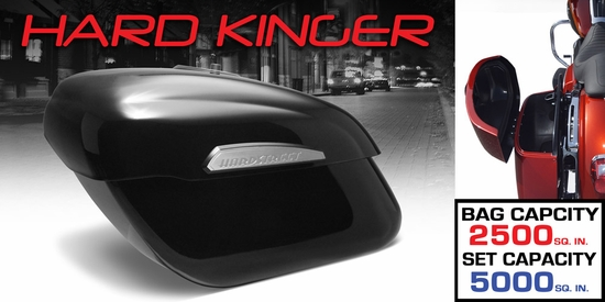 Hard Kinger Bags - Gloss Black