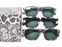 Black/White Elegance Full Reading Lens Sunglass