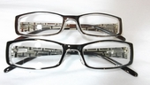 Chic Rectangular Clear Bifocal