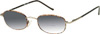 Classic Wire Frame Bifocal Sunglasses