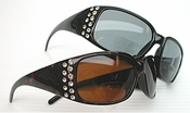 Gorgeous Rhinestone Bifocal Sunglass Reader