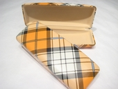 Hardsided Plaid Case
