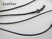 Leather Braided Eyeglass Leash