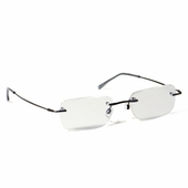 Light-Weight Rimless Clear Full Reader