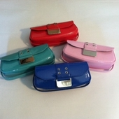 Patent Mini Purse