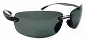 Polarized Bifocal Sunglasses Rimless