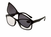 Convertible Clear Bifocal with Polarized Magnetic Sunglass