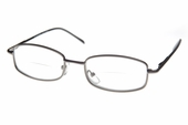 Rectangular Rimmed Clear Bifocal