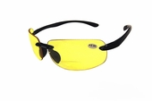 Rimless Polycarbonate Night Driving Bifocal