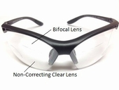 Safety Glasses with Top Bifocal