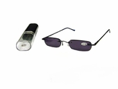 Slim Sunglass Reader with Metal Case