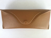 Tan Hard Vinyl Snap Case
