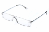 Trendy Rimless Clear Reader