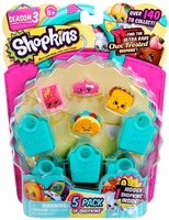 Shopkins season3- 5 pack figures