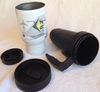 Three Piece Washable Travel Mug With Spill Proof Top
